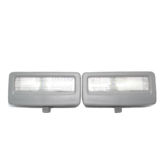 Grey LED Vanity Mirror Light For BMW F10, F11, F07, F01, F02, F03, F04 Pair