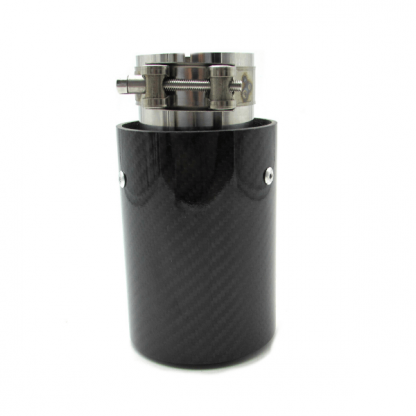 Muffler Mtech Glossy Carbon